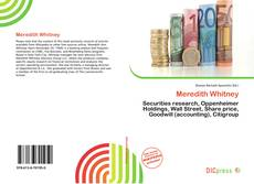 Bookcover of Meredith Whitney