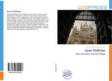 Buchcover von Joan Vollmer