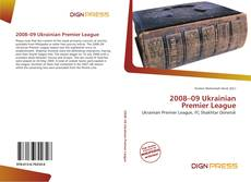 Capa do livro de 2008–09 Ukrainian Premier League