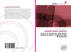 Joseph Ames (author) kitap kapağı
