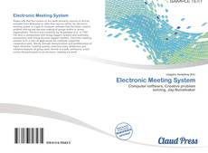 Bookcover of Electronic Meeting System
