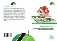 Portada del libro de Liability Insurance