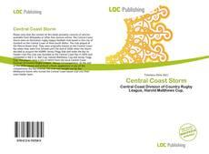 Buchcover von Central Coast Storm