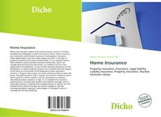 Portada del libro de Home Insurance