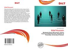 Bookcover of Altaf Hussain
