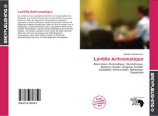 Bookcover of Lentille Achromatique