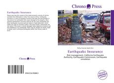 Bookcover of Earthquake Insurance