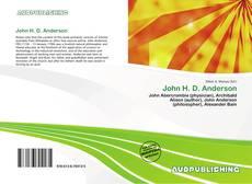 Borítókép a  John H. D. Anderson - hoz