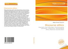 Bookcover of Discourse ethics