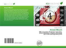 Bookcover of Anson Mount