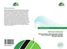 Portada del libro de Ethical calculus