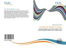 Bookcover of Auckland Rugby League
