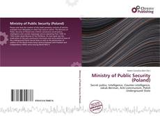Bookcover of Ministry of Public Security (Poland)