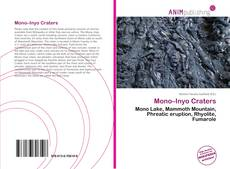 Copertina di Mono–Inyo Craters