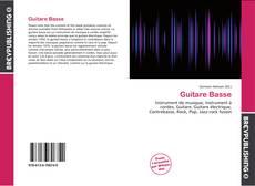 Обложка Guitare Basse