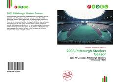 Обложка 2003 Pittsburgh Steelers Season
