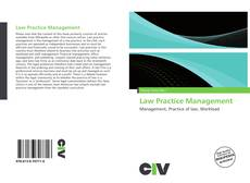 Bookcover of Law Practice Management