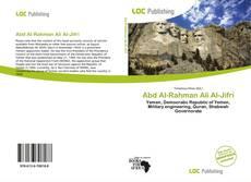 Abd Al-Rahman Ali Al-Jifri kitap kapağı