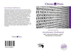 Bookcover of Accelerator (Software)