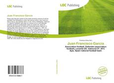 Capa do livro de Juan Francisco García