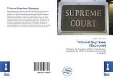 Portada del libro de Tribunal Suprême (Espagne)