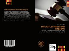 Bookcover of Tribunal Constitutionnel (Espagne)