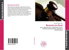 Bookcover of Branche du Droit
