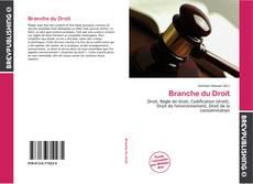 Branche du Droit kitap kapağı