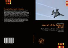 Capa do livro de Aircraft of the Battle of Britain