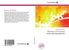 Bookcover of History of Firefox