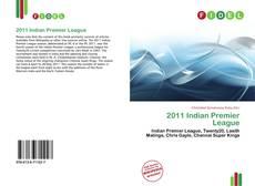 Portada del libro de 2011 Indian Premier League