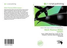Mark Thomas Miller (actor) kitap kapağı
