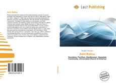Capa do livro de Adin Ballou