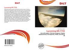 Borítókép a  Lycoming XR-7755 - hoz