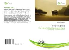 Portada del libro de Hampton (car)