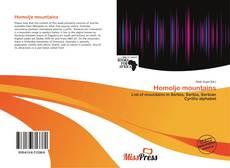 Bookcover of Homolje mountains