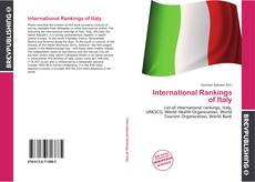 Bookcover of International Rankings of Italy