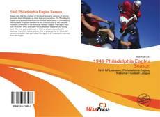 Portada del libro de 1949 Philadelphia Eagles Season
