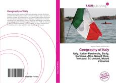 Bookcover of Geography of Italy