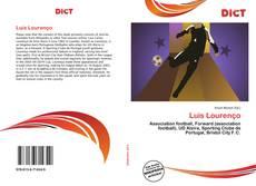 Bookcover of Luis Lourenço