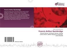 Portada del libro de Francis Arthur Bainbridge
