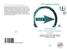 Bookcover of 2011 Sri Lanka Premier League