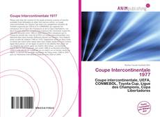 Bookcover of Coupe Intercontinentale 1977