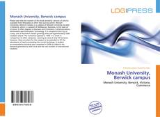 Bookcover of Monash University, Berwick campus