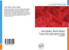 John Baker, Baron Baker kitap kapağı