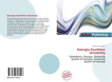 Bookcover of Georgia Southern University