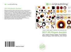Capa do livro de 2011 IPL Players Auction