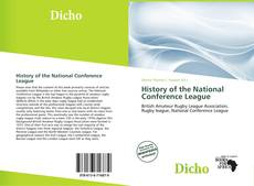 Bookcover of History of the National Conference League