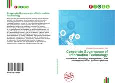 Bookcover of Corporate Governance of Information Technology