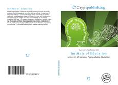 Bookcover of Institute of Education